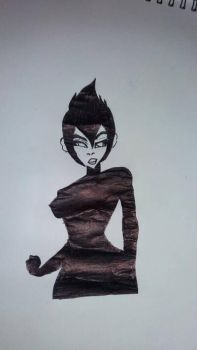 Ashi from Samurai Jack by WilliamsAshar