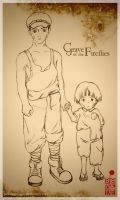 Grave Of The Fireflies Edited by BloodyMoogle