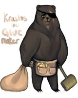 Krastos the Glue Maker by ennemme