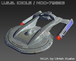 USS ICICLE / NCC-79823 W.I.P.-091 Textures by ulimann644