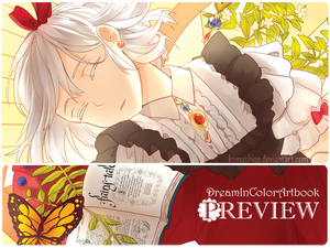 Dreamincolor Artbook Preview by kumashige