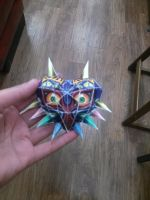 Majora's Mask Papercraft by 8bitsofawesome