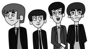 The Beatles by IndieChickZoey