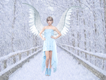 Christmas Contest - Angel of Snow by TeamTayMemilena