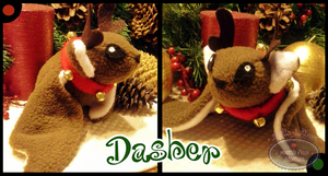 Little Litters - Dasher - Plush by Sparkle-And-Sunshine