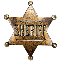 Old-West Sheriff Badge by cmnixon
