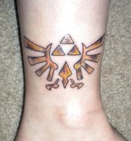 TriForce Tattoo by LastHarliquin