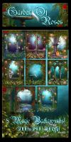 Garden Of Roses backgrounds by moonchild-ljilja