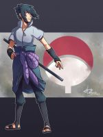 Uchiha Sasuke by msloveless