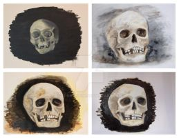Painted again - Skulls by ConnyDuck