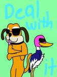 Duck Hunt: Deal With It by Zorceus