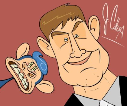 Caricature TIME by SvMoyvin