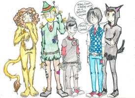 My Chemical Oz. by ZOMBIES-GO-RAWR