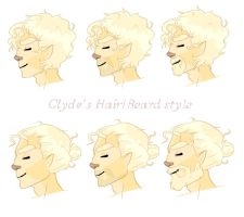 Clyde's Hair Styls by leafaye