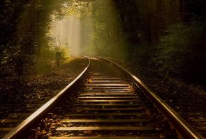Tracks to the light 6 by wienwal