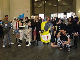 soul eater cosplay group by kura-and-something