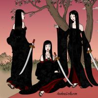 Gothic Trio by LadyAquanine73551