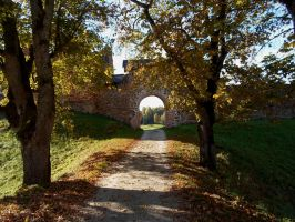 Karksi Castle ruins and moat 148 by MASYON