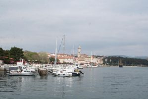 view from harbour by ingeline-art