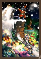 Merry Christmas and happy new year :D by Purple--Spot