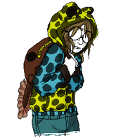Izzy- Zimmerman's Poison Frog Outfit by Amphibizzy