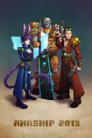 Wildstar - Arkship 2013 Exiles by evion