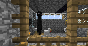 the chicken that invented the... enderman? by Kobernicmann