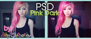 Pink Dark PSD by ForeverYoung320