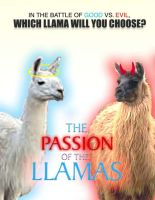 The Passion Of The Llamas by backward-HER0