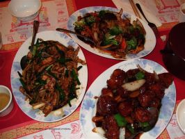 Chinese Dish Triad. by GermanCityGirl