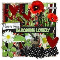 Blooming Lovely scrap kit by candyass112