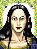 "Luthien Tinuviel ""Colored"" by Theophilia"