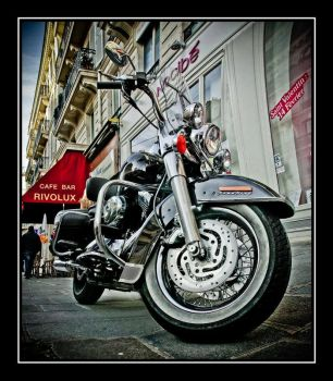 Harley Davidson Road King by dufour-l