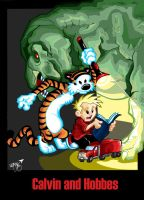 calvin and hobbes the movie by KARTOONHEDZ