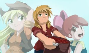 I have two girls counting on me by ShadeIrving