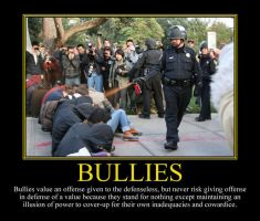 Bullies II Motivational Poster by DaVinci41