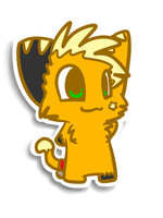 Sticker series - Kabo by Caramelcat123
