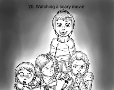 Challenge 26 - Spooked by MrMarvellouss