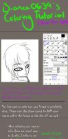 Tutorial: How to color using Paint Tool SAI by Bianca0639