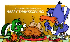 Chuck and Mike - Happy Thanksgiving! by michaelheuvel