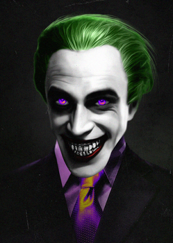 The Joker by LitgraphiX