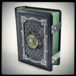 The Celtic Secrets leather journal (6.5 x 5.2 in) by alexlibris999