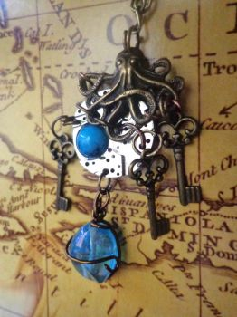 Small Ocean's keys by Rouages-et-Creations