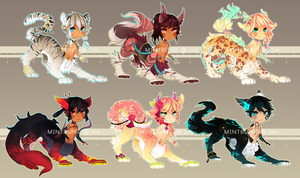 [set price] taurtopia set one. by mintbuns