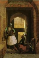The Albanian Of Cairo At The Gate In 1834 by eduartinehistorise