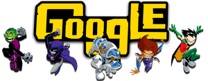 Teen Titans Google Logo (+installation guide) by Albusonita