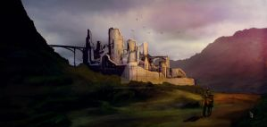 Castle of the Valley by DavidMontoro