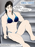 Cindy's on the Staircase (Close-Up) by BlackSandrock10