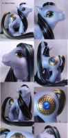 Stormsinger custom pony by Woosie