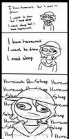 The Average Teenage Procrastinator by TVZRandomness